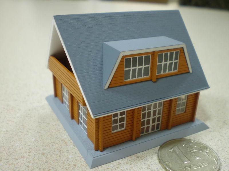 Как построить макет дома